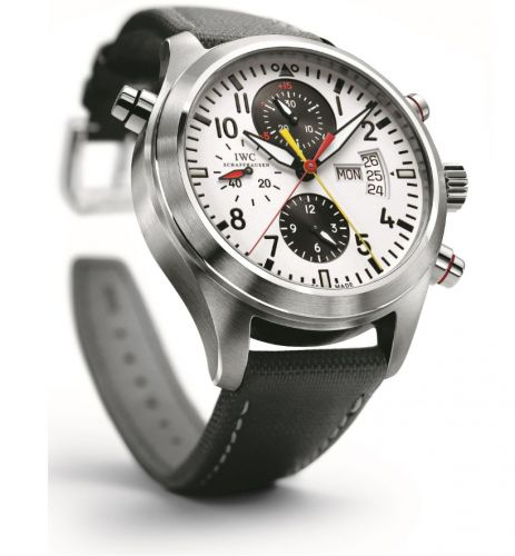 IWC IW3718-03 : Pilot's Watch Spitfire Double Chronograph DFB