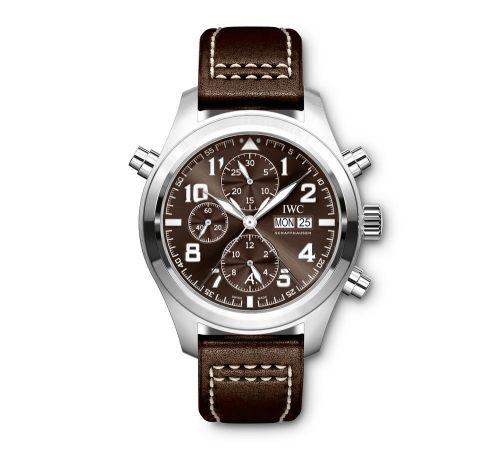 IWC IW3718-08 : Pilot's Watch Spitfire Double Chronograph Antoine de Saint Exupery