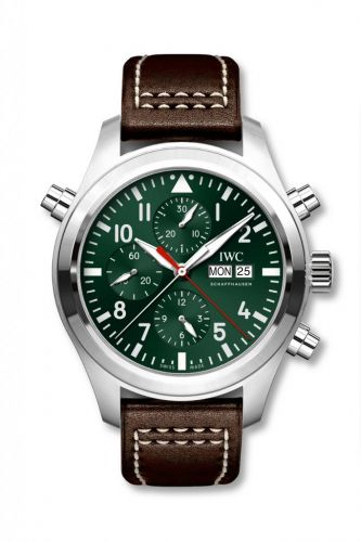 IWC IW3718-12 : Pilot's Watch Double Chronograph Latin America
