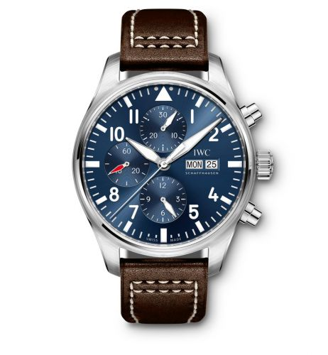IWC IW3777-14 : Pilot's Watch Chronograph Stainless Steel / Le Petit Prince