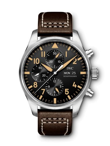 IWC IW3777-20 : Pilot's Watch Chronograph Stainless Steel / 20th Anniversary Watches of Switzerland