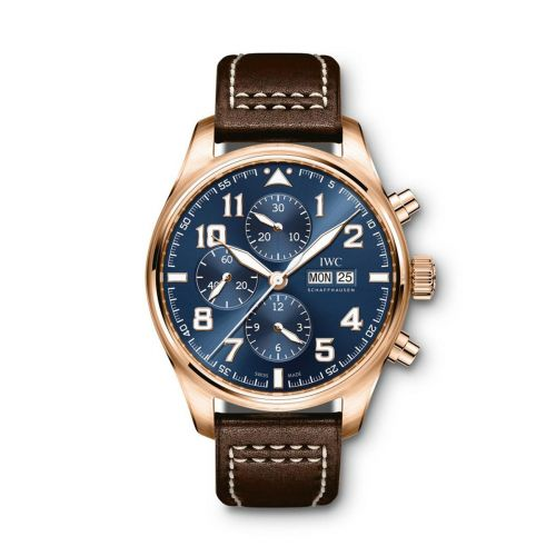 IWC IW3777-21 : Pilot's Watch Chronograph Red Gold / Le Petit Prince
