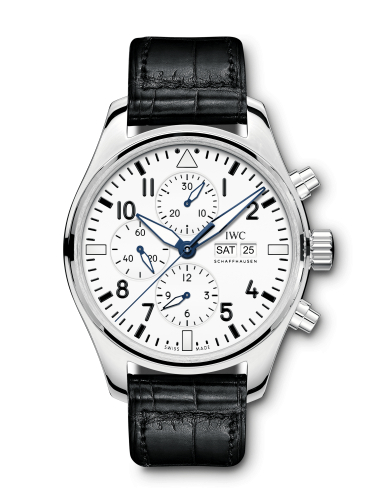 IWC IW3777-25 : Pilot's Watch Chronograph Edition 150 Years Stainless Steel / White
