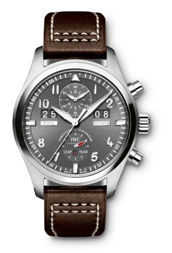 IW3791-08 : IWC Pilot's Watch Spitfire Perpetual Calendar Digital Date-Month Stainless Steel