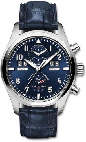 IWC IW3791-04 : Pilot's Watch Spitfire Perpetual Calendar Digital Date-Month Laureus Charity Night Zürich 2012