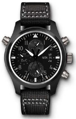 IWC IW3799-03 : Pilot's Watch Double Chronograph Top Gun Zegg & Cerlati