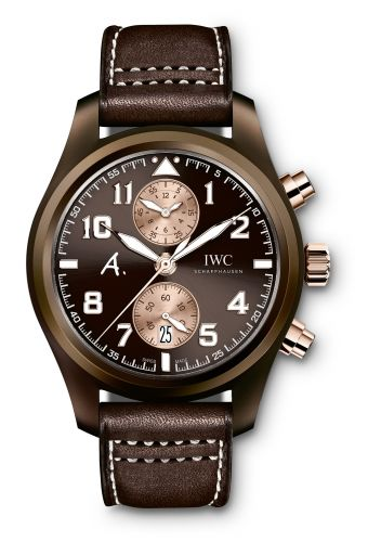 IWC IW3880-06 : Pilot's Watch Chronograph Edition Antoine De Saint Exupery Edition The Last Flight Red Gold