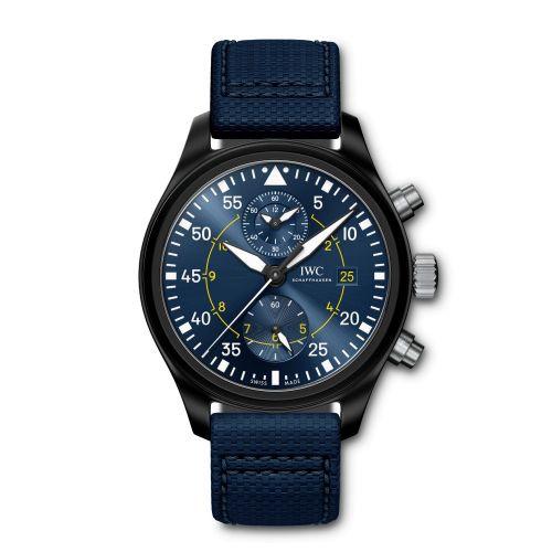 IWC IW3890-08 : Pilot's Watch Top Gun Chronograph Blue Angels