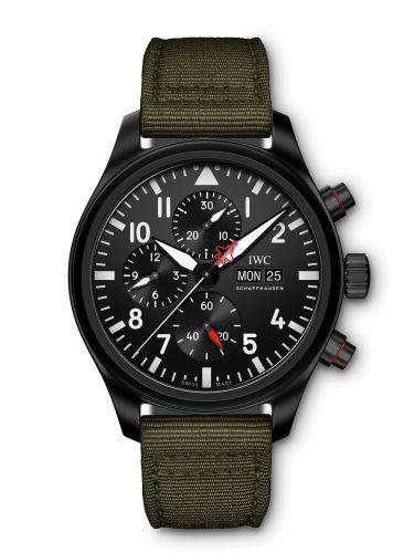 IWC IW3891-04 : Pilot's Watch Chronograph Top Gun STFI