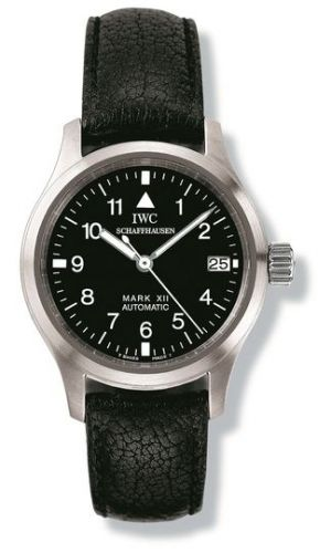 IWC IW442101 : Lady Pilot's Watch Mark XII Stainless Steel / Black / Strap