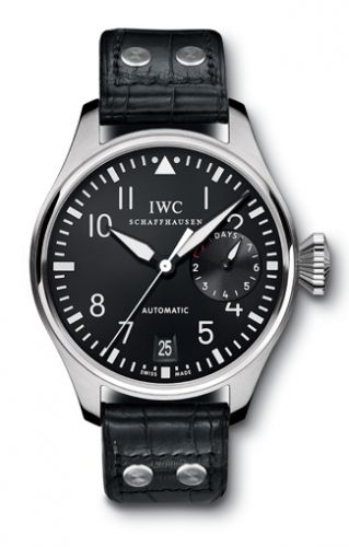 IW5004-01 : IWC Big Pilot Stainless Steel / Black