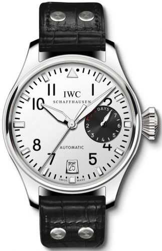 IWC IW5004-26 : Big Pilot Platinum / Silver / Tourneau