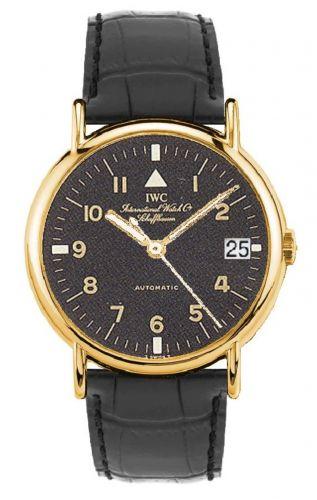 IWC IW3513-03 : Portofino Automatic Yellow Gold / Black - Pilot / Strap
