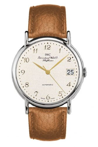 IWC IW3513-14 : Portofino Automatic Stainless Steel / Silver - Breguet / Strap