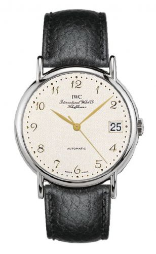 IWC IW3513-23 : Portofino Automatic Stainless Steel / Silver - Breguet / Strap