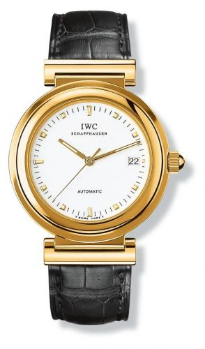 IWC IW3528-03 : Da Vinci SL Yellow Gold / White