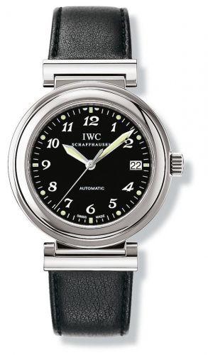 IWC IW3528-10 : Da Vinci SL Stainless Steel / Black Breguet / Nappa