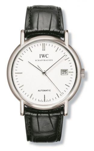 IWC IW3533-01 : Portofino Automatic / Stainless Steel / White / Strap