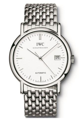 IWC IW3533-03 : Portofino Automatic / Stainless Steel / White / Bracelet