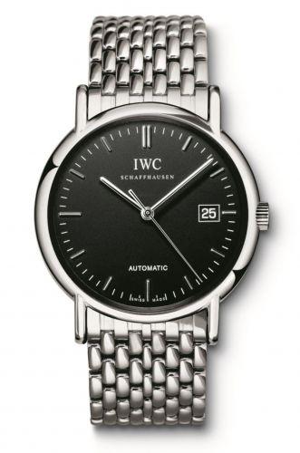 IWC IW3533-06 : Portofino Automatic / Stainless Steel / Black / Strap