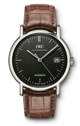 IWC IW3533-13 : Portofino Automatic / Stainless Steel / Black / Strap