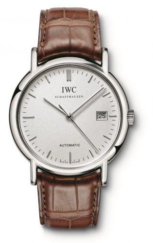 IWC IW3533-15 : Portofino Automatic / Stainless Steel / Silver / Strap