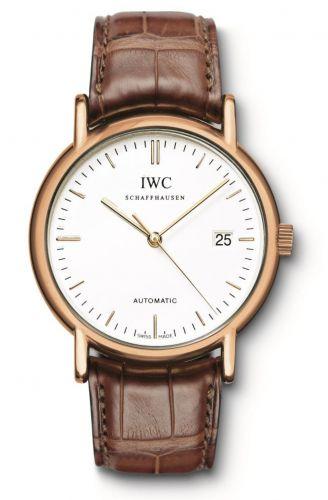 IWC IW3533-19 : Portofino Automatic / Rose Gold / White / Strap