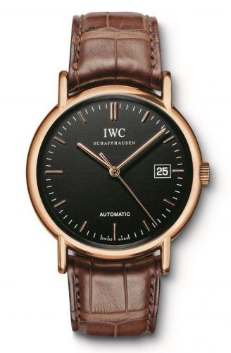 IWC IW3533-20 : Portofino Automatic / Rose Gold / Black / Strap