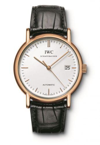 IWC IW3533-21 : Portofino Automatic / Rose Gold / White / Strap