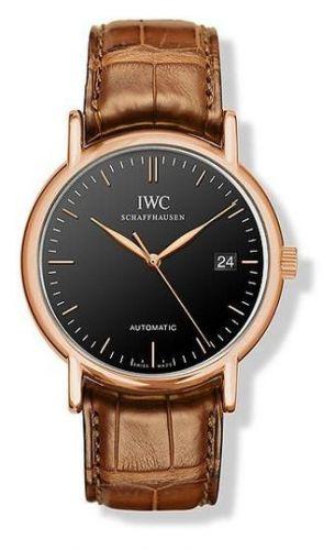 IWC IW3533-26 : Portofino Automatic / Rose Gold / Black / Strap