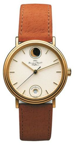 IWC IW3550-01 : Portofino Automatic Moonphase / Yellow Gold / White / Strap