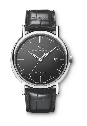 IWC IW3563-05 : Portofino Automatic Stainless Steel / Black