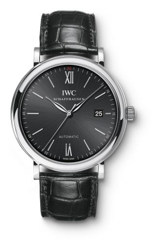 IWC IW3565-02 : Portofino Automatic Stainless Steel / Black