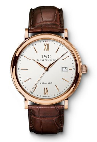 IWC IW3565-04 : Portofino Automatic Red Gold / Silver