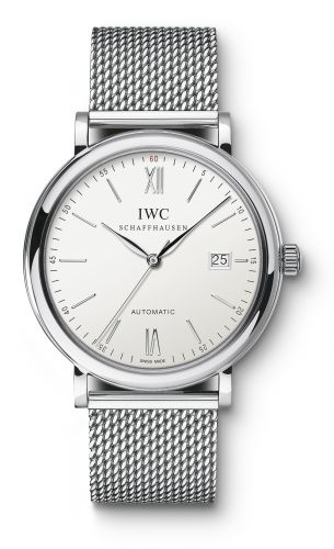 IWC IW3565-05 : Portofino Automatic Stainless Steel / Silver / Milanese