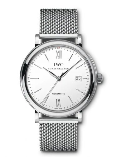 IWC IW3565-09 : Portofino Automatic Stainless Steel / Silver / Long Milanese