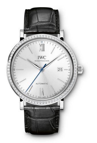 IWC IW3565-14 : Portofino Automatic White Gold / Silver / Diamond