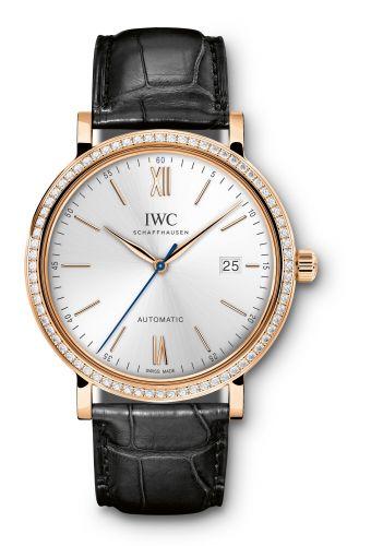 IWC IW3565-15 : Portofino Automatic Red Gold / Silver / Diamond