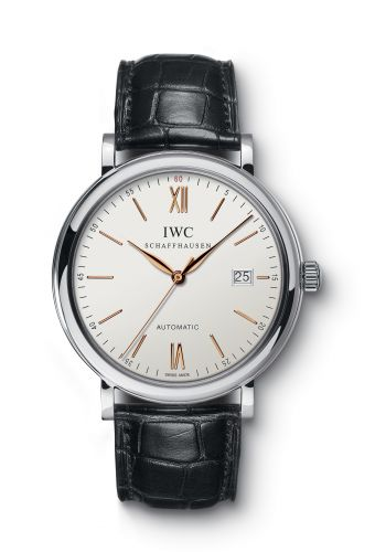 IWC IW3565-17 : Portofino Automatic Stainless Steel / Silver