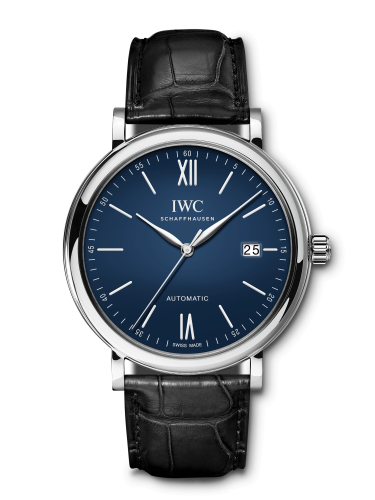 IWC IW3565-18 : Portofino Automatic 150 Years Stainless Steel / Blue