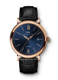 IWC IW3565-22 : Portofino Automatic Red Gold / Blue