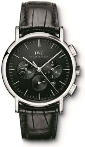 IWC IW3724-04 : Portofino Chronograph MecaQuartz Stainless Steel / Black