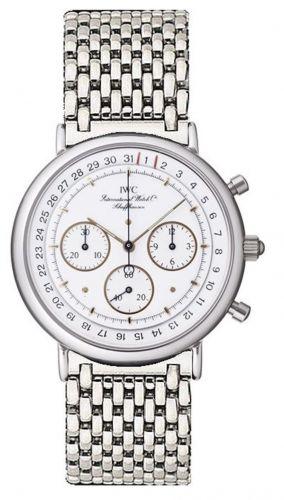 IWC IW3731-06 : Portofino Chronograph MecaQuartz Stainless Steel / White / Bracelet