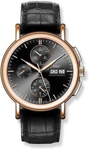 IWC IW3783-05 : Portofino Chronograph Rose Gold / Black