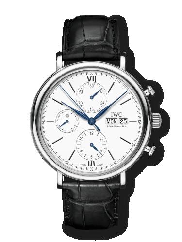 IWC IW3910-24 : Portofino Chronograph 150 Years Stainless Steel / White