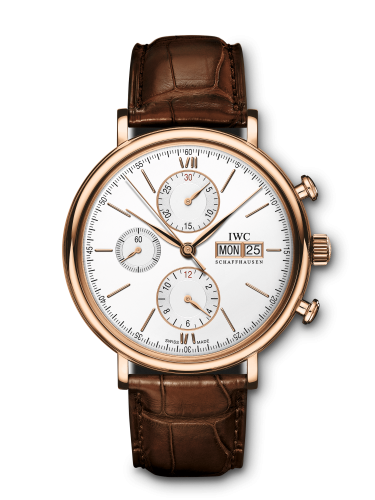 IW3910-25 : IWC Portofino Chronograph Red Gold / Silver