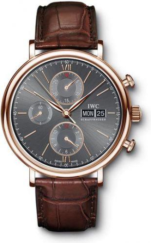 IWC IW3910-26 : Portofino Chronograph Red Gold / Ardoise