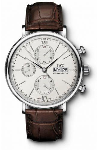 IWC IW3910-01 : Portofino Chronograph Stainless Steel / Silver