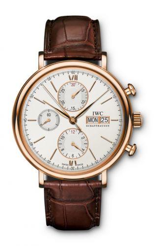 IWC IW3910-20 : Portofino Chronograph Red Gold / Silver