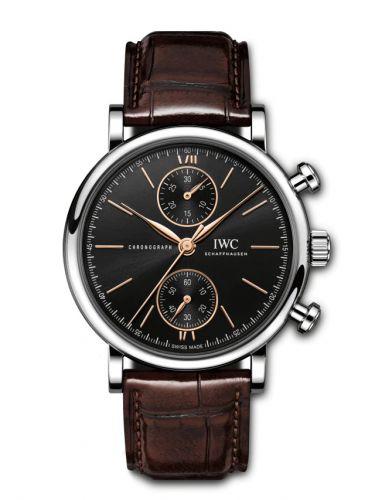 IWC IW3914-04 : Portofino Chronograph 39 Stainless Steel / Black